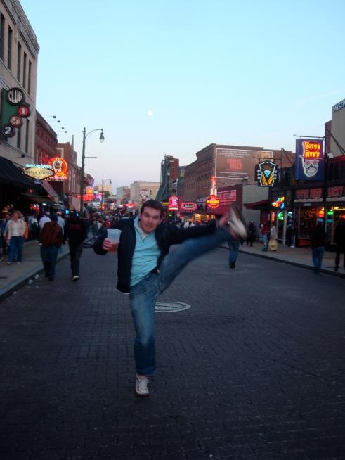 Beale Street, Memphis, TN - April 2011