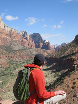 In deep thought at Zion.
