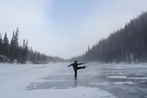 Dream Lake, Rocky Mountain National Park, CO - Dec 2012