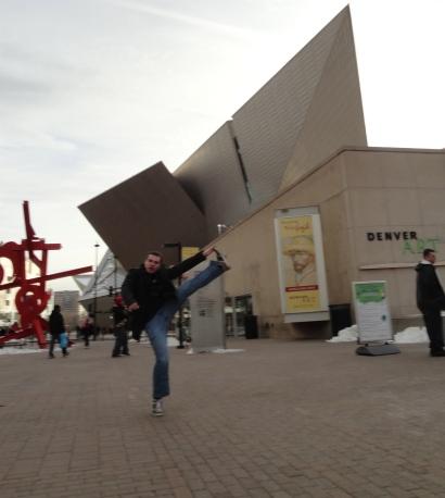 Denver Art Museum, Denver, CO - December 2012
