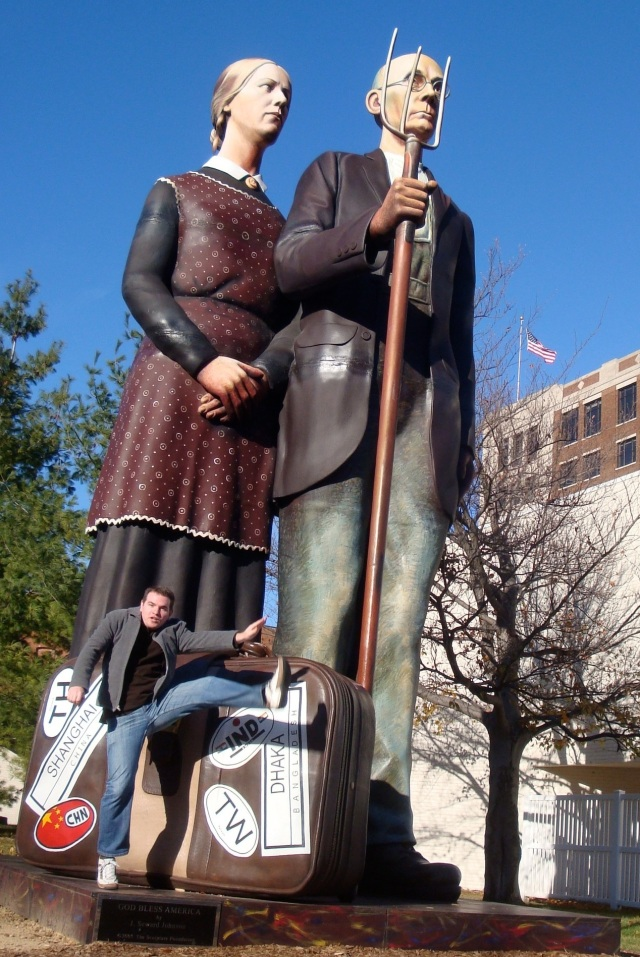 "J. S. Johnson II's ""God Bless America"" in Dubuque, IA - November 2010"