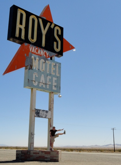 Roy's Motel and Cafe, Amboy, CA - April 2012