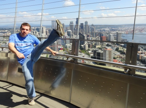 Space Needle O Deck, Seattle, WA - July 2013