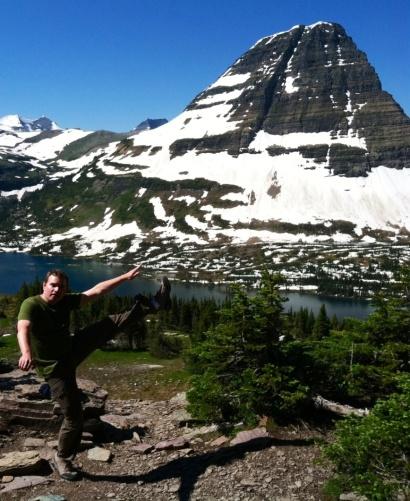 Hidden Lake Overlook, Glacier National Park - July 2013