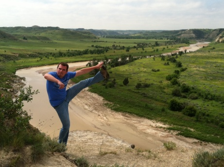 Wind Canyon, Theodore Roosevelt National Park, ND - July 2013