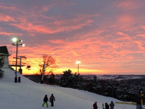 Sunset at Sundown Mountain Resort