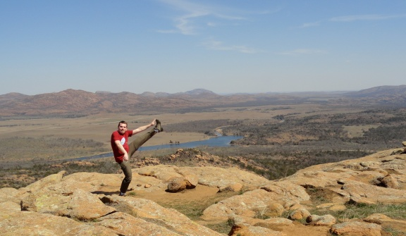 Wichita Mountains Wildlife Refuge, Lawton, OK - March 2013
