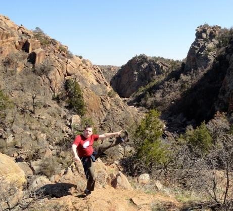 The Narrows, Wichita Mountains Wildlife Refuge, OK - March 2013