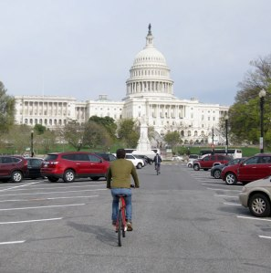 Capital Bikeshare makes getting across the National Mall quick and easy.