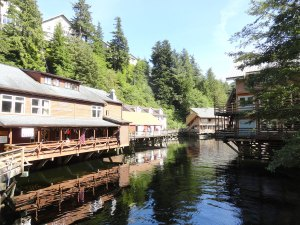 Creek Street in Ketchikan.