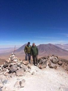 Cerro Toco summit.