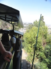 The Funicular de Santiago is a must-see. It takes visitors to the top of San Cristóbal Hill.