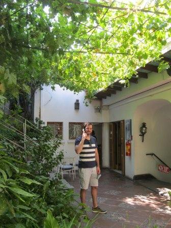 Pablo Neruda's house, La Chascona is a popular tourist site in Bella Vista.