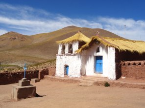 Church in the village of Machuca.