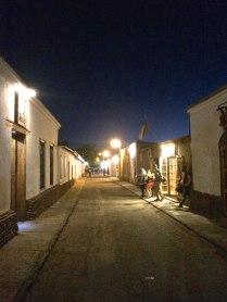 San Pedro by night.