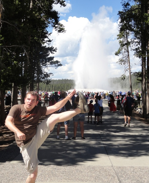 Old Faithful, Yellowstone National Park - July 2013