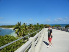 The old bridge at Bahia Honda provides a great viewpoint for the nearby islands and bridges.