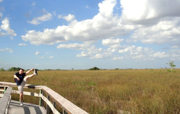 Pa-hay-okee Overlook, Everglades National Park - April 2015