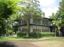 Ernest Hemingway's home from 1931-1939, complete with six-toed cats.