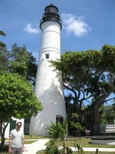 The 73 foot tall Key West Lighthouse kept ships safe from 1849-1969, now you can climb it and there's a museum attached.