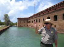 Ranger Bruce gave our small group a detailed tour of the history of Fort Jefferson at Dry Tortugas.