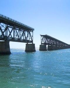 Former road/rail span at Bahia Honda State Park.