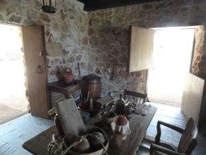 Interior room in Pedro St. James.