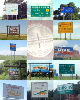We passed through 10 states in our 4,572 miles. Whew! Where next?