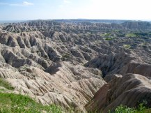 In 2009 we visited our first national park together, Badlands. This year we swung through for old time's sake.
