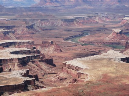 An overview of Canyonlands National Park. It just looks like this landscape goes on forever.