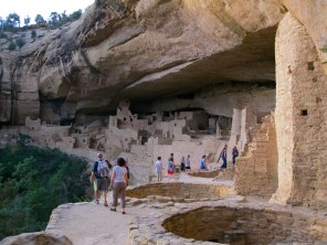 Our first cave dwelling tour was of the famous Cliff Palace. We chose the ranger-led twilight tour.