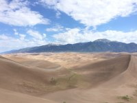 National Park #1: Great Sand Dunes in Colorado.
