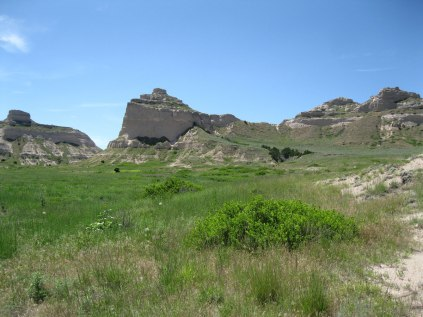 Scotts Bluff National Monument in western Nebraska was a major landmark for pioneers traveling west. Now you can hike up or take a road that passes through the only three tunnels in Nebraska.