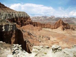 Lower South Desert overlook.
