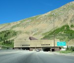 Eisenhower Tunnel entrance.