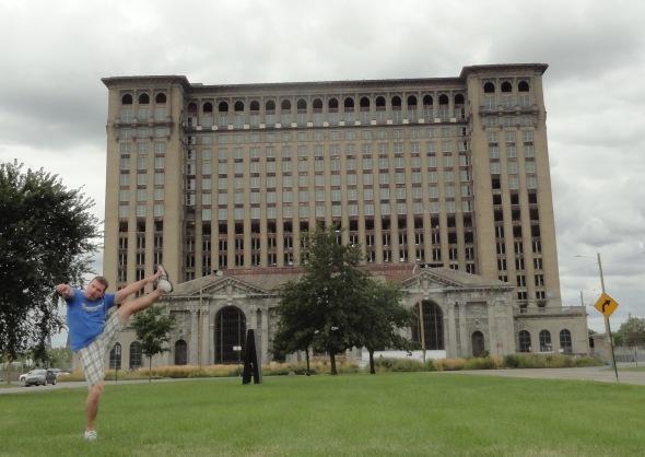 Michigan Central Station, Detroit, MI - August 2015