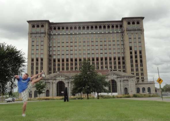 Michigan Central Station, Detroit, MI - August 2015