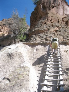 Bandelier National Monument Ladder
