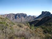Big Bend Chisos Basin