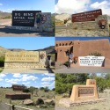 National Park Entrance Signs