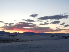 White Sands Sunset Stroll