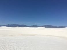 White Sands Alkali Flat Hike