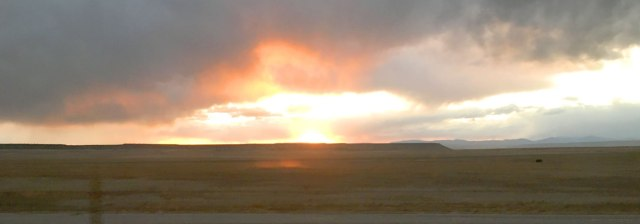 amtrak-new-mexico-sunset