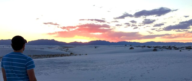 WhiteSandsSunset