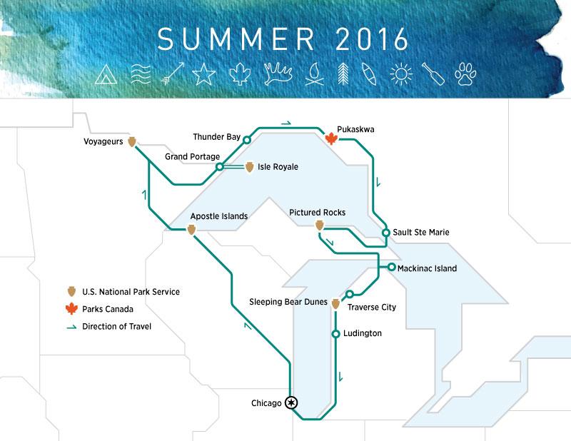 Summer Road Trip Great Lakes highkicktravel