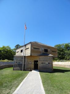 Fort Holmes sits at the highest point on Mackinac Island, 310 feet above Lake Huron.