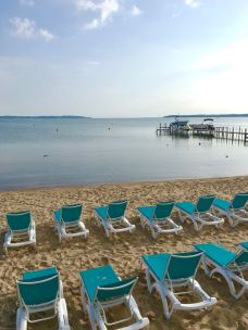 Traverse City is a popular summer vacation town with miles of beaches and an impressive food and drink scene.