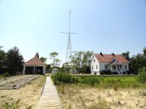 The Sleeping Bear Point Coast Guard Station has museum exhibits about the nautical culture of the area.