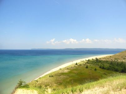 In 2011, Good Morning America called Sleeping Bear Dunes the most beautiful place in the USA.