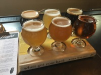 Flagstaff is a great spot to try some beer. This flight is from Historic Brewing. There were at least 5 breweries located conveniently within walking distance of our hotel.